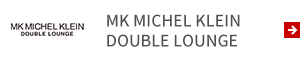 MK MICHEL KLEIN DOUBLE LOUNGE