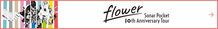 Sonar Pocket 10th Anniversary Tour flower