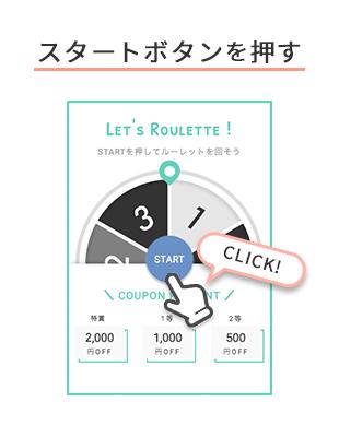 スタートボタンを押す 「START」CLICK!