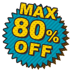 MAX80%OFF
