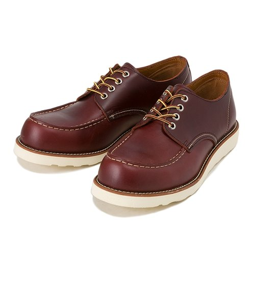 HL40063 4INCH MOC TOE FG/RED BROWN 539497-0002