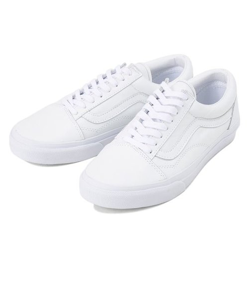 V36L OLD SKOOL LEATHER WHITE 540075-0001