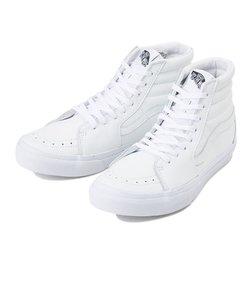 V38L SK8-HI LEATHER WHITE 540076-0001