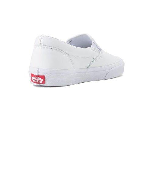 V98L2 SLIP ON LEATHER WHITE 540085-0001