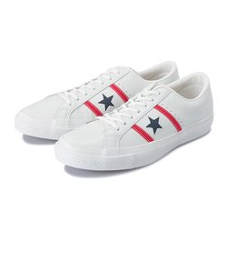 32340300 STAR & BARS LEATHER WHITE/RED/NAVY 549624-0001