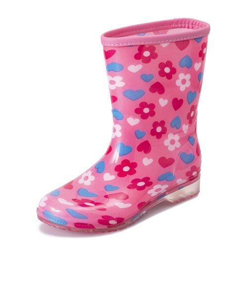 HK92019 RAIN BOOTS(15-21) FLOWER 551696-0002