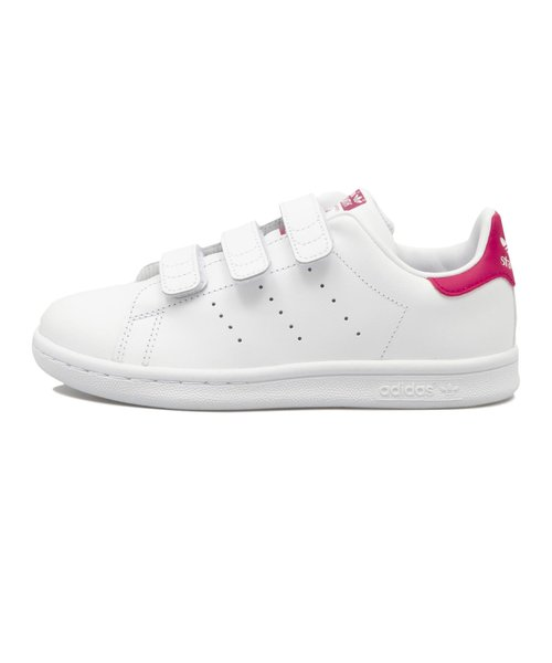 B32706(17-21) STAN SMITH CF C WTH/WTH/BOPINK 554182-0001