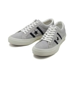 32350337 STAR & BARS SUEDE GRAY/BLACK 556921-0001
