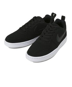 W845726 WMNS NIKE COURT BOROUGH LOW SL 001BLACK/BLACK 557799-0001