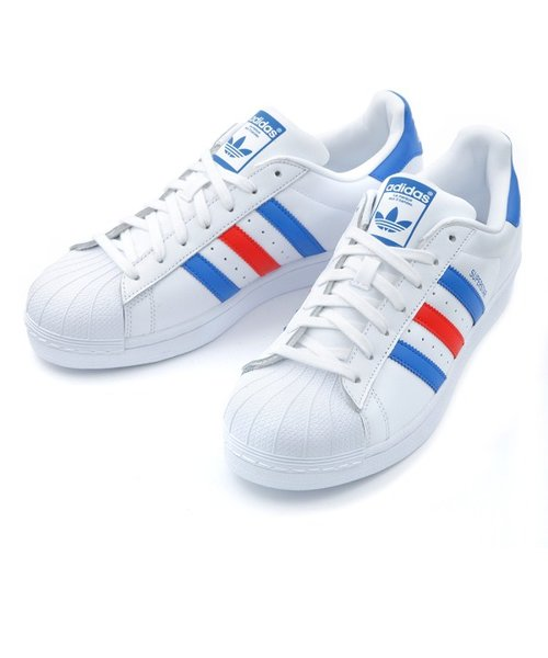 BB2246 SUPERSTAR *WHT/BLUE/RED 560285-0001