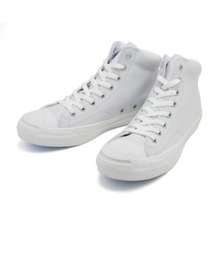 32243000 JACK PURCELL LEATHER MID WHITE/WHITE 560995-0001