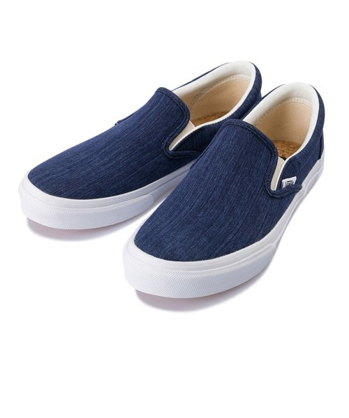 V98CL C.LINEN SLIP ON NAVY 562344-0001