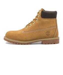 #12909 W'S 6 IN PREMIUM BOOT (JR)* *WHEAT 500783-0001