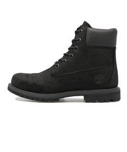 8658A W'S 6 IN PREMIUM BOOT* BLACK 553075-0001