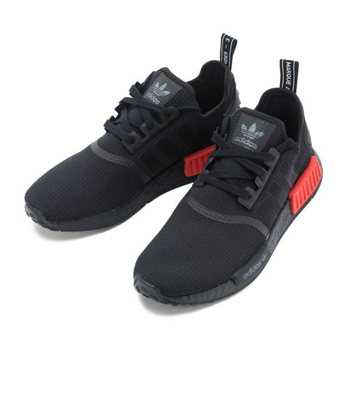 huge discount 486b0 ea347 B37618 NMD R1 BLK/BLK/RED 582671-0001 | ABC-MART ...