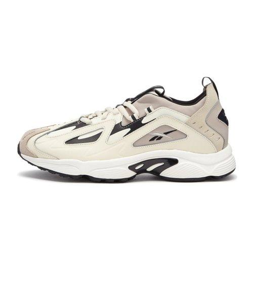DMX Series 1200 New Reebok - Beige// Black Running Shoes Sneakers DV9232