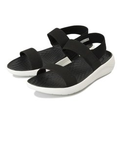 205106-066 literide sandal w black/white 575395-0001