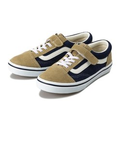 V36CJ CDY OLD SKOOL(15-22) BEIGE/NAVY 594538-0002
