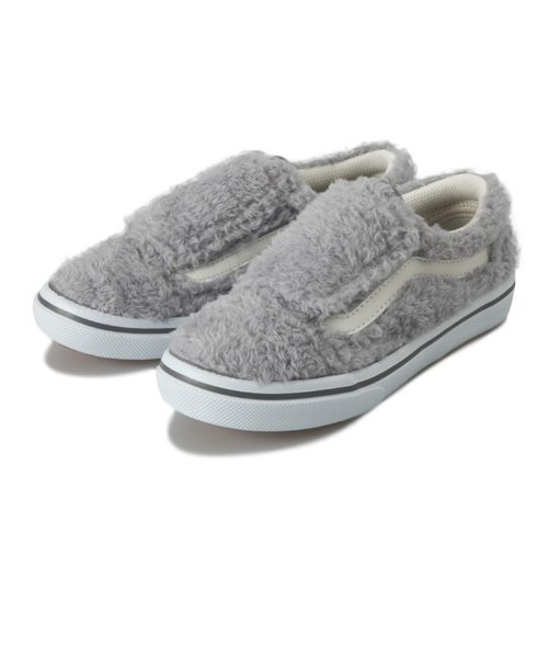 V36CJ W.FUR OLD SKOOL(14-20) GRAY 594545-0002