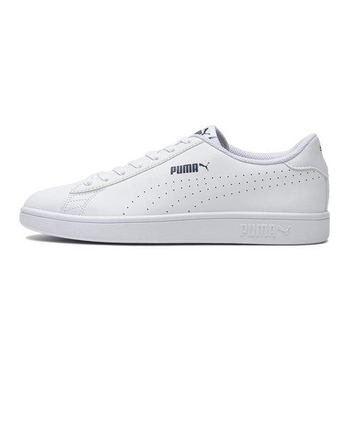 365213 PUMA SMASH V2 L PERF 02WHITE/WHITE 574850-0005