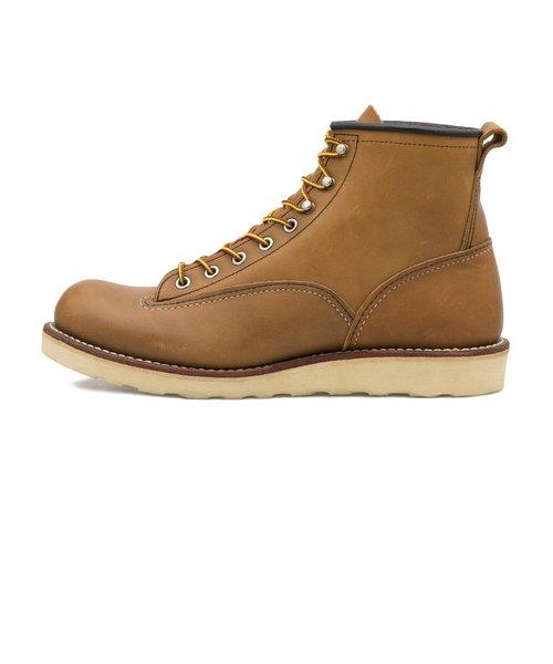 2904 6'LINEMAN BOOTS BROWN 437614-0001