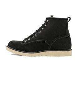 2900 6'LINEMAN BOOTS BLACK SUEDE 473556-0001