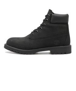 #12907 W'S 6 IN PREMIUM BOOT (JR)* BLACK 500784-0001