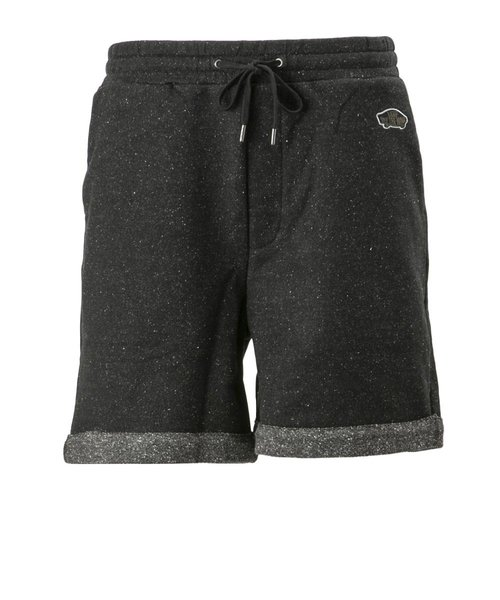 19SVANP07 Nep Yarn French Terry Shorts BLACK 596203-0003