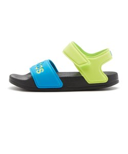 FY8850 17-21adilette sandal k CBLK/SYEL/SBLU 614814-0001
