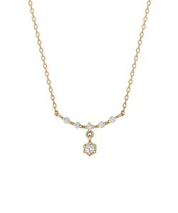 ダイヤモンド5セキスイングネックレス(YG)