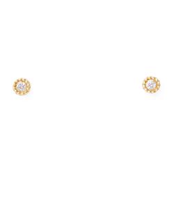【ネット限定】【K10イエローゴールド】ダイヤモンド ピアス