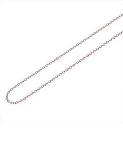 【40cm】ピンクゴールドメッキ サージカルステンレス チェーン