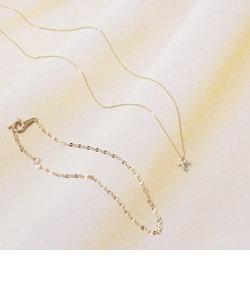 【web限定】ゴールドネックレス&ブレスレット