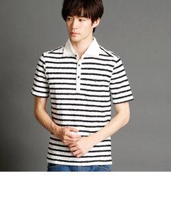 ホリゾンタルワイドカラーポロシャツ