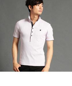 袖ボタンポロシャツ