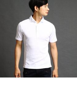 ホリゾンタルカラーポロシャツ