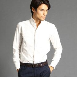 コーデュロイスタンドカラーシャツ
