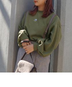 シロクマ刺繍裏起毛スウェット