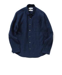 ビーミング by ビームス / ハードマンズリネン レギュラーカラーシャツ