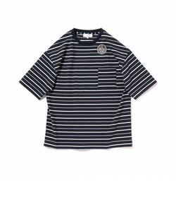 ビーミング by ビームス / ヘビーウェイト ドロップショルダー ボーダー Tシャツ