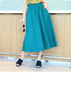 ビーミング by ビームス / タイプライター フレアスカート 18SS-R<手洗い可能>