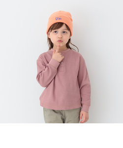 B:MING by BEAMS / ハニカム ヘンリーネック プルオーバー Tシャツ20FW(90~140cm)