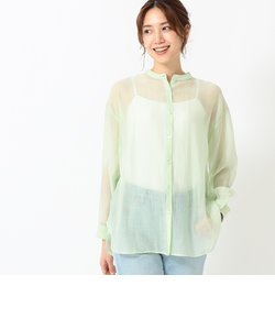 B:MING by BEAMS / バンドカラー シアーシャツ 21SS