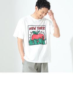 Manhattan Portage / Keith Haring NYC Logo Tシャツ
