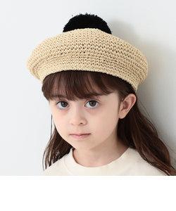 B:MING by BEAMS / ポン付 ペーパー ベレー帽