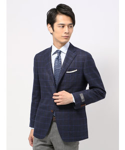 【blazer's bank.com】ウインドーペーン柄ジャケット≪Fabric by REDA≫