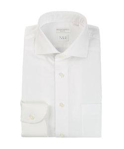 【NON IRON】ホリゾンタルカラードレスシャツ 無地 〔EC・SLIM FIT〕