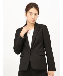 【ウォッシャブル】ギャバストレッチ テーラードジャケット
