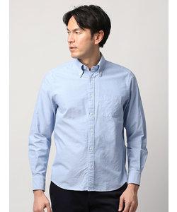 【ETONNE】製品洗い ボタンダウンカラーオックスフォードシャツ