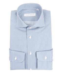 【blazer's bank.com】ホリゾンタルカラードレスシャツ プリント